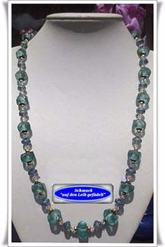 1060. lange Trade Beads-Kette