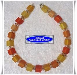 177) Polaris-Würfel-Swarovski-Armband