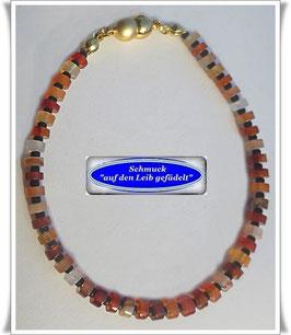 246) sommerliches Karneol-Armband