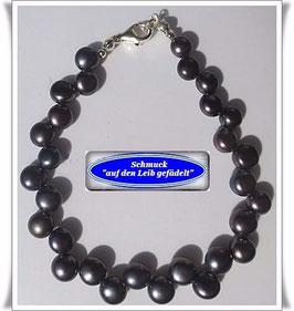 138) Zuchtperlen-Armband