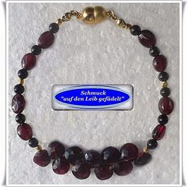 183) edles Granat-Armband