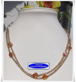 436. 2-reihiges Swarovski-Collier