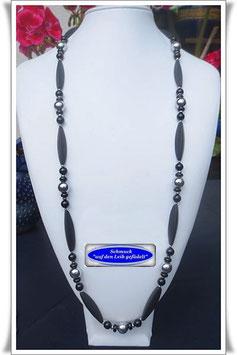 580. sehr lange Onyx-Kette