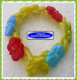 10) Schmetterling-Armband aus Knöpfen TS