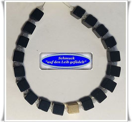 1929. Onyx-Mondstein-Armband