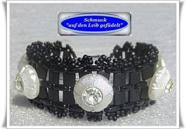 54) elegantes Strassknöpfe-Armband