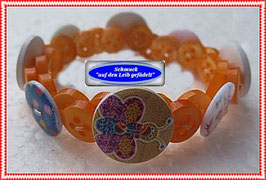 5) Armband mit Insekten-Holzknöpfen TS