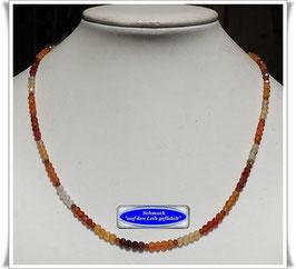 1830. buntes Karneol-Mandarin-Granat-Kette