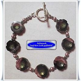220) verspieltes Glasperlen-Armband