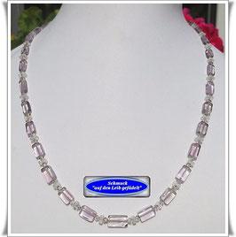 602. zierliches Amethyst-Collier