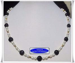 163. Perlen-Onyx-Collier (TS)