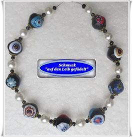 1071. Murano-Millefiori-Armband