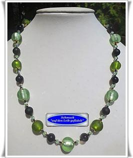 1448. interessante Muranoglas-Perlenkette