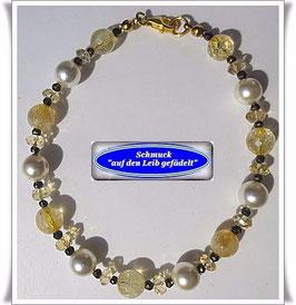 141) Citrin-Armband