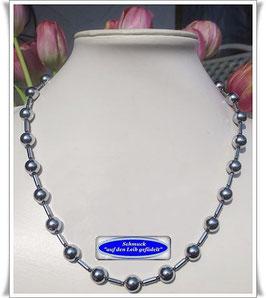 440. Silber Pyrit-Kette