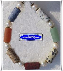 161) Edelstein-Armband