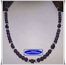 1002. Amethyst-Collier Set