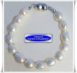 247) elegantes Frischwasserperlen-Armband