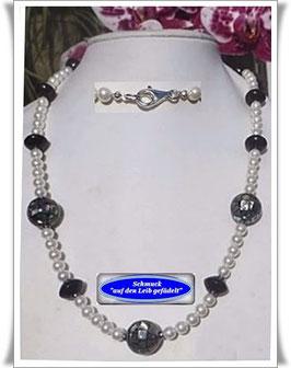 1138. Abalone Shell-Mosaik-Perlenkette