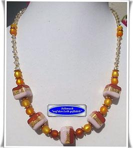 549. edle Muranoglas-Perlenkette