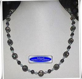 1601. elegante Abalone-Mosaik-Perlenkette