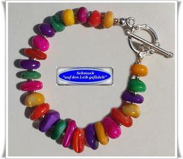 121) buntes Perlmutt-Armband TS