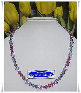 1402. elegante Swarovski-Perlenkette