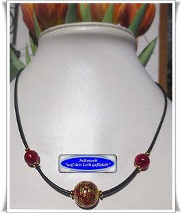 444. Original Muranoglas-Perlenkette