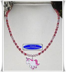 155) Kinderketten mit Einhorn-Anhänger TS