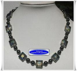 1815. edle Swarovski-Kristallglaskette