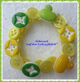 20) Armband mit Enten-Knöpfen TS