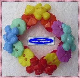 15) Armband aus Teddy-Knöpfen TS