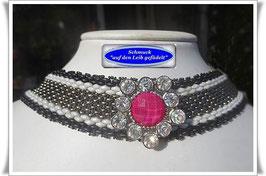 11) elegantes Trachten-Halsband