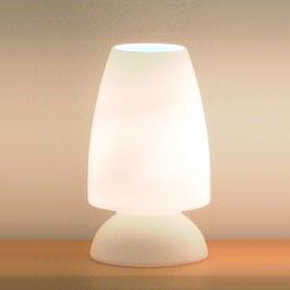Design Tischleuchte Opalglas
