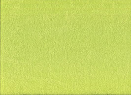 Stretchfrottee uni grelles lime