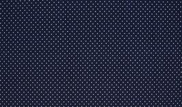 Dotties dunkelblau/weiß - Baumwolljersey
