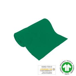 Bio-Schlauchbündchen uni blattgrün