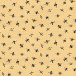 Honey Bee's Life bees - Baumwollstoff Riley Blake