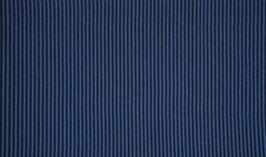 Schlauchbündchen Ringel dunkelblau-jeansblau