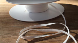 Bobbinsband weiß 4 mm