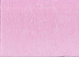 Stretchfrottee uni rosa