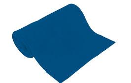 Bio-Schlauchbündchen uni blau
