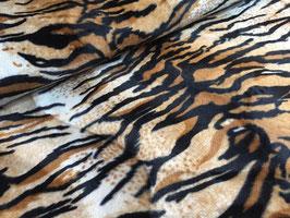 Tiger - Faschingsstoff/Karnevalstoff Kunstfell