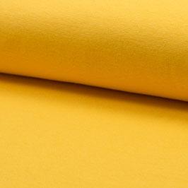 Schlauchbündchen uni gelb