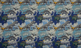 Dinos blau - Jersey