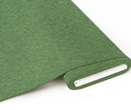 Biojersey uni grün meliert