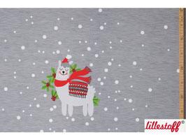 Franz feiert Weihnachten - Biosweat Lillestoff Panel 80 cm
