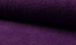 Handtuchfrottee uni violett