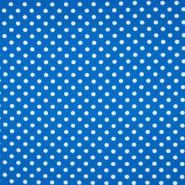 Dots blau/weiß - Baumwolljersey