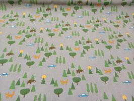 Wald Fuchs und Bär - Feincord Kiyohara
